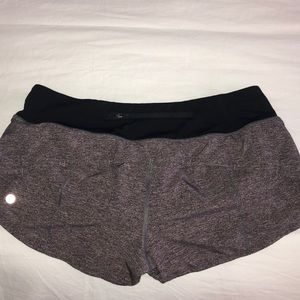 Lululemon Speed up shorts 2.5 inseam